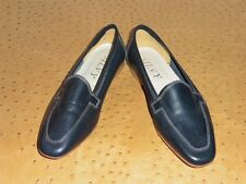 CHAUSSURE MOCASSIN TOP MODE TOUT CUIR VINTAGE 80 NEUF T.36.5 / SLIP-ON SHOES