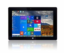 "Fusion 5 10"" Windows 10 2GB RAM 32GB Storage Quad-Core Slim Tablet PC COMPUTER"