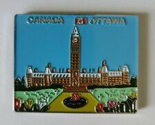 Canada Ottawa Metal Tourist Travel Souvenir Gift Collectable Fridge Magnet