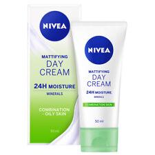 3 x Nivea Day Cream 50ml Mattifying 24H Moisture Minerals Combination Oily Skin