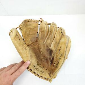 Rawlings RTM 66 1960's Tom Tresh Baseball Glove Autograph Pro Web Right Hand Thr
