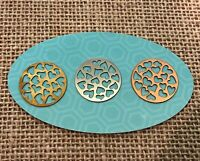 Authentic Origami Owl Large Cutout Hearts Round Plate - New & Retired