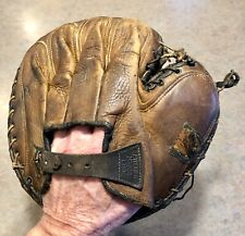 Vintage 1910s Spalding Baseball Catchers Mitt PATENTED MAR. 22 1910