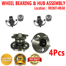 4X Front Rear Wheel Hub and Bearing Assembly for TOYOTA COROLLA 1993-2002