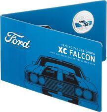 2017 Australia 50c Coloured UNC Coin - 1978 XC Falcon Cobra Classic FORD Car