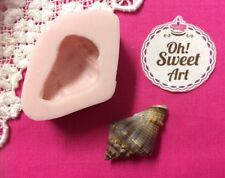 Sea Shell II 3D Silicone mold shells fondant soap Push Food Cake Decoration FDA