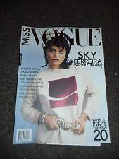 SKY FERREIRA - MISS VOGUE AUSTRALIA - ISSUE 3 - GRETA GERWIG