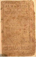 RARE FIRST EDITION of BENJAMIN FRANKLIN Epitaph!Ames' Almanack Poor Richard 1771