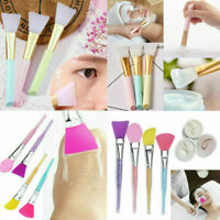Silicone Face  Brush Facial Mud Mixing Applicator Makeup Tools Beauty