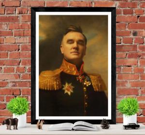 Morrissey The Smiths Poster Art Picture Print Portrait