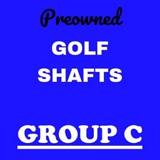 Pre-Owned Golf Shafts Group C