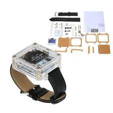 SCM Transparent LED Watch DIY LED Digital Tube Electronic Watch DIY Kit