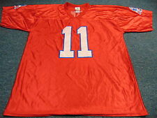 NFL TEAM APPAREL NEW ENGLAND PATRIOTS JULIAN EDELMAN DAZZLE RED JERSEY SIZE XL