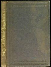 George TUGWELL A Manual Of The Sea-Anemones English 1856 English Coast