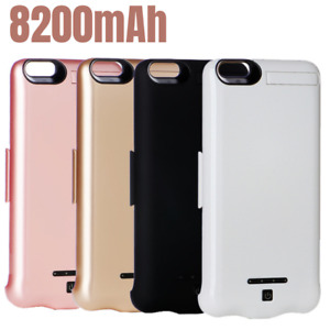 For iPhone SE 8 11 Pro XR Battery Charger Case Power Bank Charging Cover 8200mAh