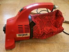 Dirt Devil Royal Compact handheld hoover 150UK- super cleaning in red and black