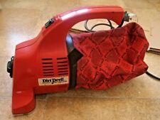 Dirt Devil Royal compatto portatile Hoover 150UK-Super Pulizia in rosso e nero
