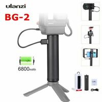 Ulanzi BG-2 6800mAh Power Grip Stick for Gopro 7 6 5 Black Osmo Pocket Action 1X