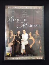 Etiquette For Mistresses Filipino Dvd