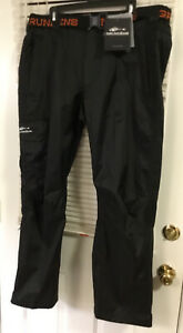 NWT! GRUNDENS WEATHER WATCH Fishing PANTS BLACK X-LARGE GAGE WWTBXL EC!