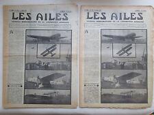 AILES 1935 734 HENDON LOCKHEED ELECTRA ANGERS RNEA AVION TELECOMMANDE POU