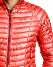Mountain Hardwear Ghost Whisperer 800 Down Jacket Mens XXL 2XL CHERRY BOMB RED