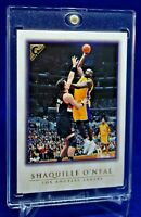 SHAQUILLE O'NEAL TOPPS GALLERY CANVAS LIKE SURFACE SP LAKERS LEGEND HOF