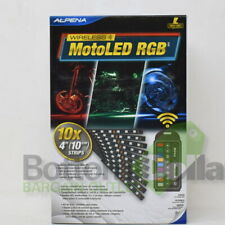 Alpena MotoLED RGB Wireless Waterproof Remote Controlled Motorcycle LED Glow Kit