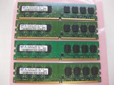 Samsung 4GB Kit (4x1GB) 2Rx8 PC2-5300U DDR2 Desktop RAM Memory M378T2953EZ3-CE6