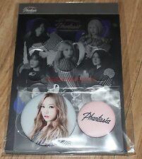 GIRLS' GENERATION 4th TOUR Phantasia in SEOUL GOODS TAEYEON BUTTON STICKER SET