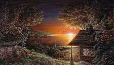 Sunset Retreat limited edition print by Terry Redlin