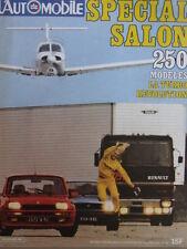 L'Automobile  Spécial Salon 1980