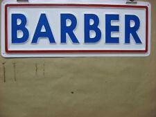Barber Service Sign 3d Embossed Plastic 5x15 Shop Hair Salon Retail Trim Shave