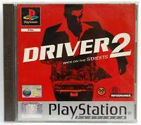 DRIVER 2 - PLAYSTATION 1 - PAL ESPAÑA - COMPLETO