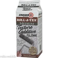 1-LB Zinsser Roll-A-Tex MEDIUM Texture Paint Additive