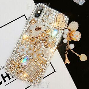 Women' Luxury Bling Diamonds Soft Back Phone Cases For Xiaomi MI9 SE MI10 Lite