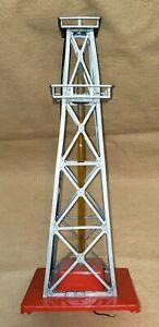 Vintage American Flyer #773 Bubbling Oil Tower Derrick Gusher Train Station