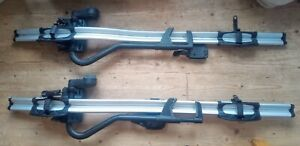 Thule ProRide 591 Bike Roof Rack PAIR EXCELLENT USED