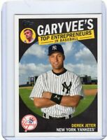2019 TOPPS BASEBALL INSERT CARD # GV-9 - HOF DEREK JETER -  NEW YORK YANKEES