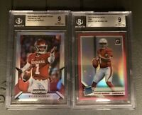 2019 Panini Donruss Optic Rated Rookies Pink & Prizm Silver Kyler Murray BGS 9's