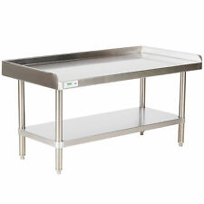 "New Regency 24"" x 48"" Stainless Steel Work Prep Table Commercial Equipment Stand"