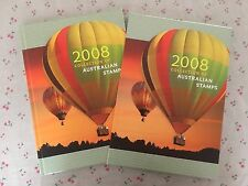 Collection of 2008 Australian Post Year Book Album with Stamps - Deluxe Edition