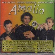 AMALIA - ERIC COUEFFE - DIEGO MODENA - FABRICE ADAMS - CD ALBUM 12T 1999 RARE