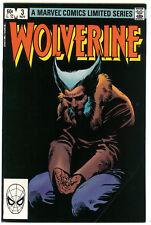 Wolverine Limited Series #3 Vf- (7.5) ~Frank Miller~1st print