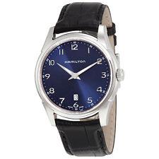 Hamilton Jazzmaster Thinline Blue Dial Mens Watch H38511743