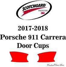 3M Scotchgard Paint Protection Film Clear Pre-Cut 2017 2018 Porsche 911 Carrera