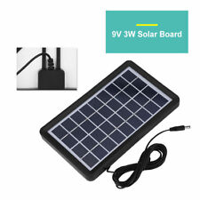 Outdoor 9V 3W Solar Panel Board Poly Silicon Waterproof Solar Cell Power Charger