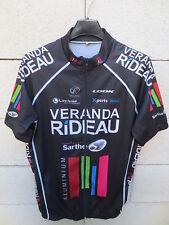 Maillot cycliste VERANDA RIDEAU Sarthe Look cycling shirt XL noir