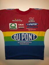 Vintage NASCAR Jeff Gordon T-Shirt Mens XL Red 1998 #24 Car Racing Made In USA
