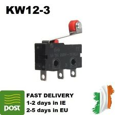 KW12-3 Micro Limit Switch Roller Lever 5A 125-250V Open/Close Switch KW11-N